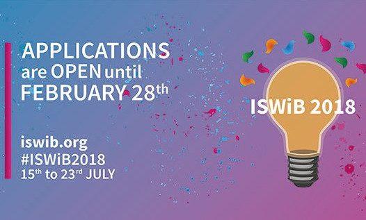 Odprte so prijave za ISWiB!