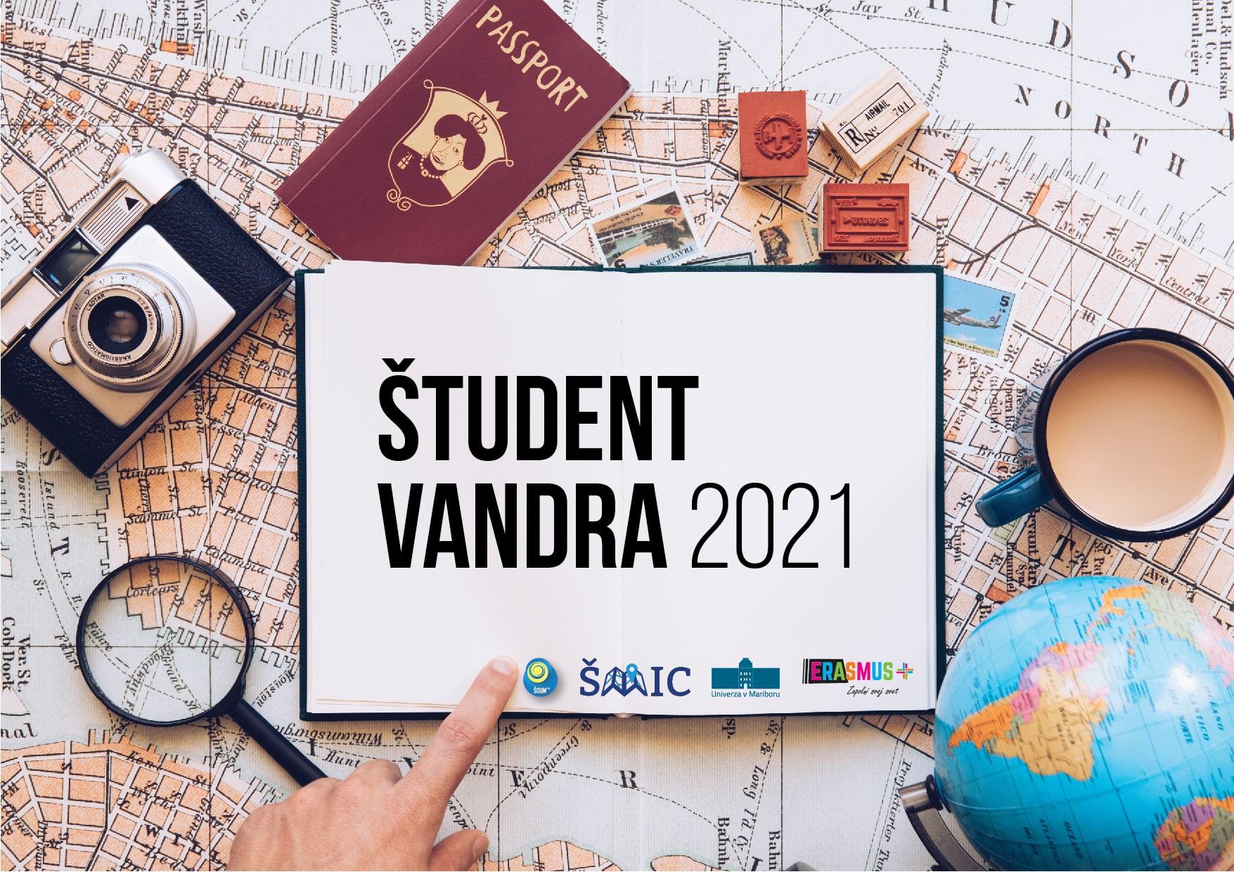 Natečaj »Študent vandra 2021«