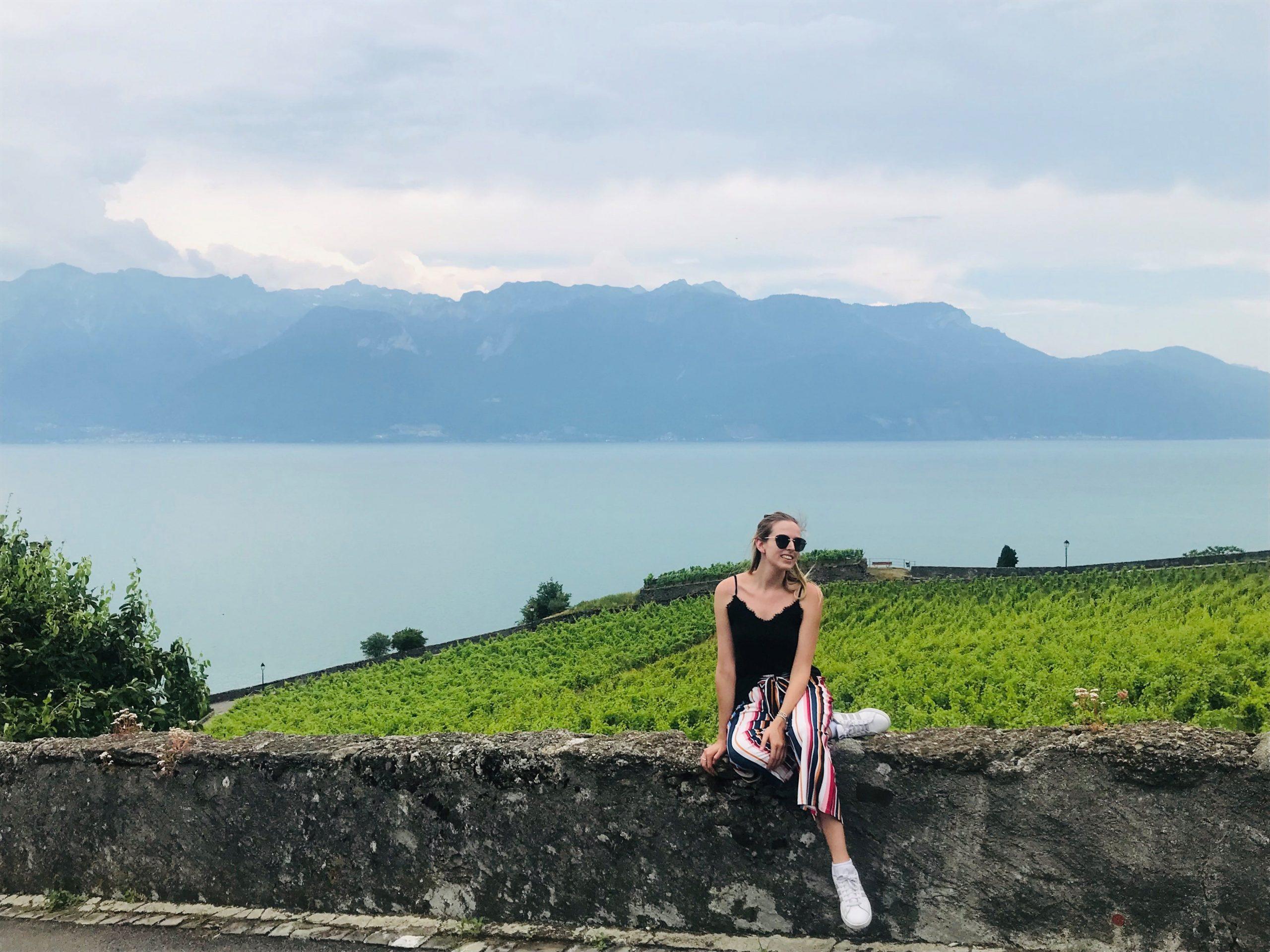 Poletna šola med švicarskimi vinogradi